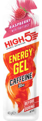 Гель энергетический High5 Energy Gel Caffeine Raspberry 40g