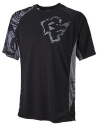 Веломайка RaceFace Indy jersey SS black/grey