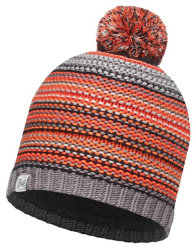 Шапка с помпоном Buff Junior Knitted & Polar Hat Amity grey castlerock