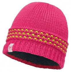 Шапка Buff Junior Knitted & Polar Hat Jambo pink azalea