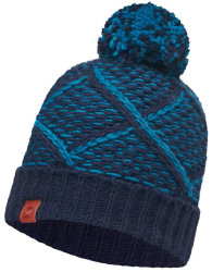 Шапка Buff Knitted Hat Plaid medieval blue