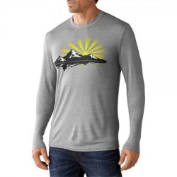 Кофта Smartwool L/S Sun Rise Slim Light Gray
