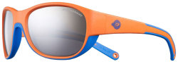 Очки Julbo Luky Orange/cyan blue Spectron4 baby smoked silver flash