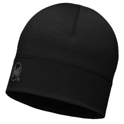 Шапка Buff Merino Wool 1 Layer Hat solid black