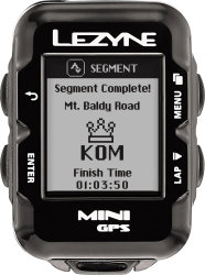 Компьютер Lezyne Mini GPS HRSC Loaded черный