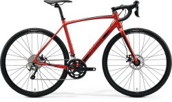 Велосипед Merida Mission CX 300 SE 28 silk x'mas red (black)