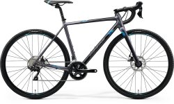 Велосипед Merida Mission CX 400 28 matt silver (blue)