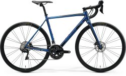 Велосипед Merida Mission Road 400 28 silk ocean blue (black)
