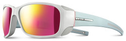 Очки Julbo Monterosa White shiny/blue mint mat Spectron3CF Smoke Multilayer pink