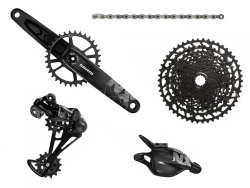 Групсет Sram NX Eagle DUB Groupset Rear Der Trigger Shifter w Clamp Crankset DUB