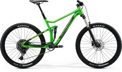 Велосипед Merida One-Twenty 7 400 glossy green (black)
