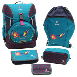 Набор сумок Deuter OneTwo Set - Sneaker Bag petrol bird