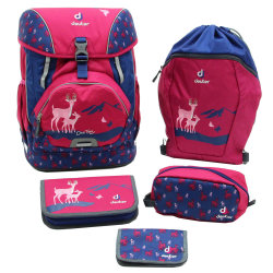Набор сумок Deuter OneTwo Set - Sneaker Bag magenta deer