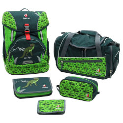 Набор сумок Deuter OneTwo Set - Hopper forest dino
