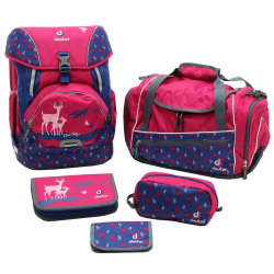 Набор сумок Deuter OneTwo Set - Hopper magenta deer