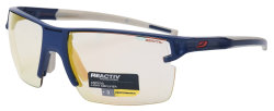 Очки Julbo Outline Dark blue/grey Reactiv Zebra Light fire Yellow/Brown Multilayer red