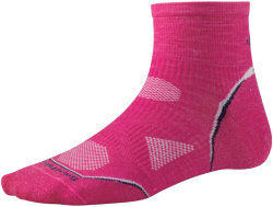 Носки женские Smartwool PhD Cycle Ultra Light Micro (Bright Pink)