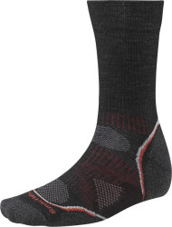Носки Smartwool PhD Outdoor Light Crew (Black/Red)
