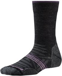 Носки женские Smartwool PhD Outdoor Light Crew (Charcoal)