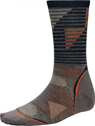 Носки Smartwool PhD Outdoor Ultra Light Pattern Crew (Taupe)