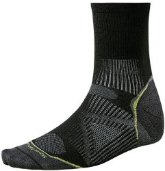 Носки Smartwool PhD Run Light 3/4 Crew (Black)