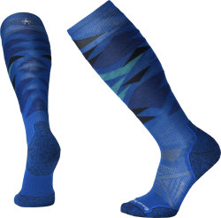 Носки Smartwool PhD Ski Light Pattern (Bright Blue)