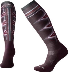 Носки женские Smartwool PhD Ski Light Pattern (Bordeaux)