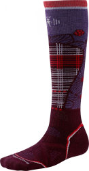 Носки женские Smartwool PhD Ski Medium Pattern (Aubergine)