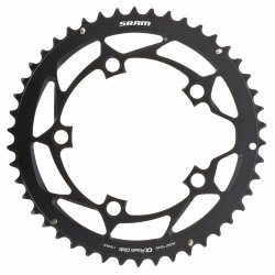 Звезда Sram POWERGLIDE CRING ROAD 46T 10S 110 AL4BLK S-PIN BB30
