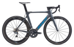 Велосипед Giant Propel Advanced Pro 1 Charcoal/Blue Chrome