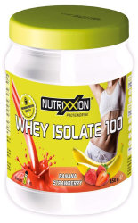 Напиток протеиновый Nutrixxion Protein Whey Isolate 100 450g Erdbeer-Banana