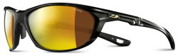 Очки Julbo Race 2.0 Shinny black Polarized 3CF Brown Multilayer Gold