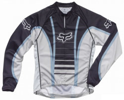 Джерси Fox Race L/S Jersey Blue