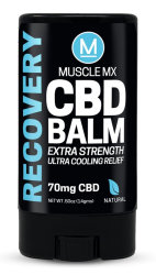 Бальзам Muscle MX Recovery CBD Cooling Balm 70 mg (15ml/0.5oz)
