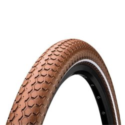 "Покрышка Continental Ride Cruiser Reflex 26""x2.00, Wire, ExtraPuncture Belt коричневая"