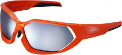 Очки Shimano S51X Glossy Orange/Smoke Silver Mirror