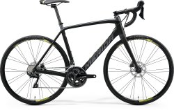 Велосипед Merida Scultura Disc 4000 matt black/grey (neo ylw)