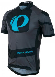Джерси велосипедный Pearl iZUMi SELECT LTD Short Sleeve Jersey серо-черный