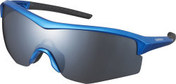 Очки Shimano Spark Metallic Blue/Smoke Silver Mirror