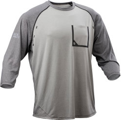 Футболка Race Face Stage 3/4 Sleeve Jersey charcoal