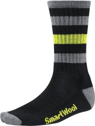 Носки Smartwool Striped Hike Light Crew (Black)