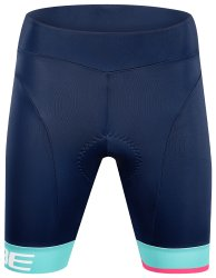 Шорты женские Cube Teamline WS Cycle Shorts blue n mint