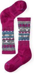 Носки детские Smartwool Wintersport Fairisle Moose (Berry)