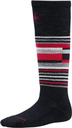 Носки детские Smartwool Wintersport Stripe (Black)