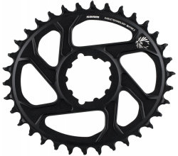 Звезда Sram X-SYNC Eagle OVAL 36T DM 3 OFF B BLK
