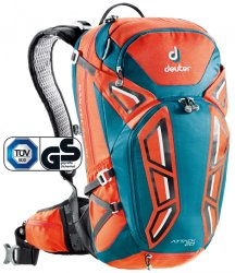 Рюкзак Deuter Attack 20 papaya-petrol (9306)