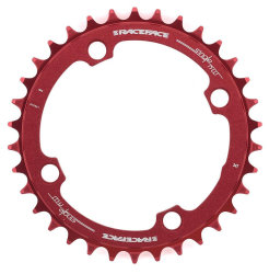 Звезда RaceFace Chainring Narrow Wide, 104, red