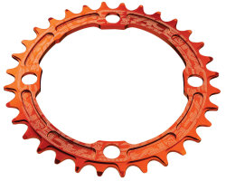 Звезда RaceFace Chainring Narrow Wide, 104, ora