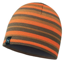 Шапка Buff Knitted & Polar Hat Laki stripes orange