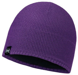 Шапка Buff Knitted & Polar Hat Laska plum